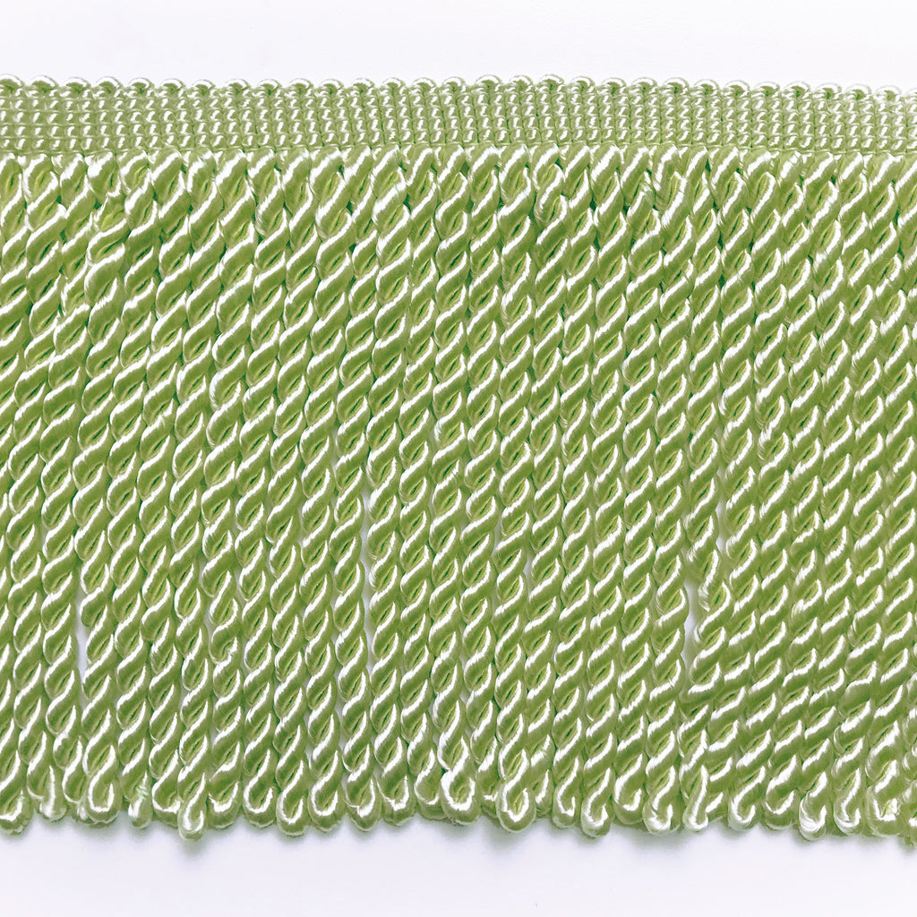Lime High Quality Decorative Bullion Fringe Trim by the yard