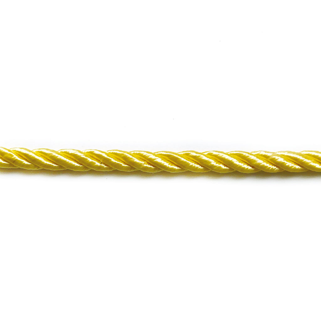 Yellow High Quality Decorative Cord Trim by the yard