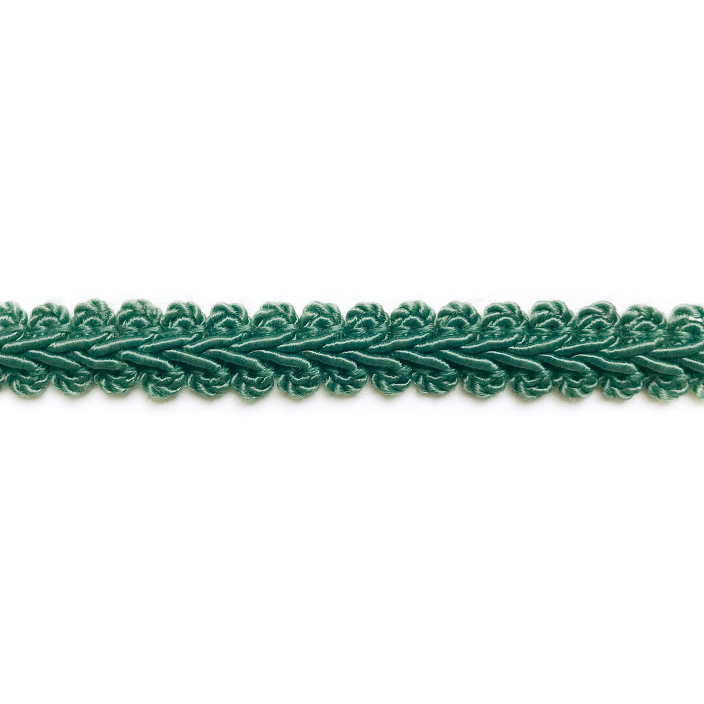 Hunter Green High Quality Decorative Gimp Trim by the yard