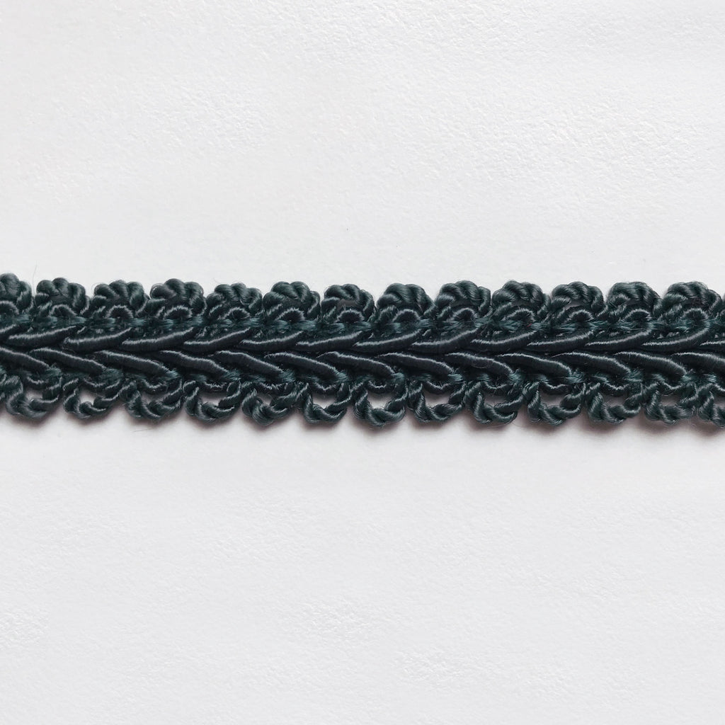 Forest Green High Quality Decorative Gimp Trim by the yard
