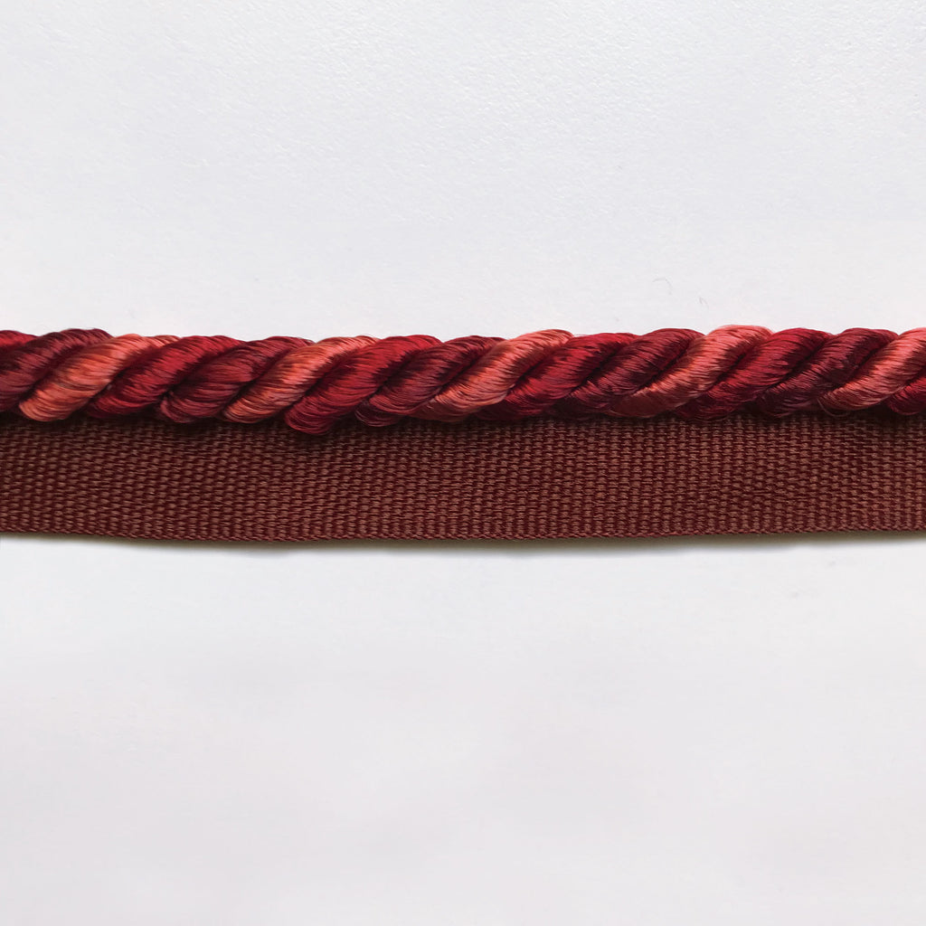 Scarlet High Quality Decorative Lip Cord Trim by the yard