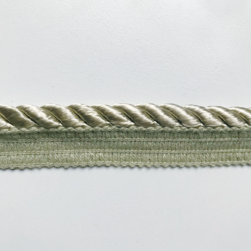 Sage Green High Quality Decorative Lip Cord Trim by the yard