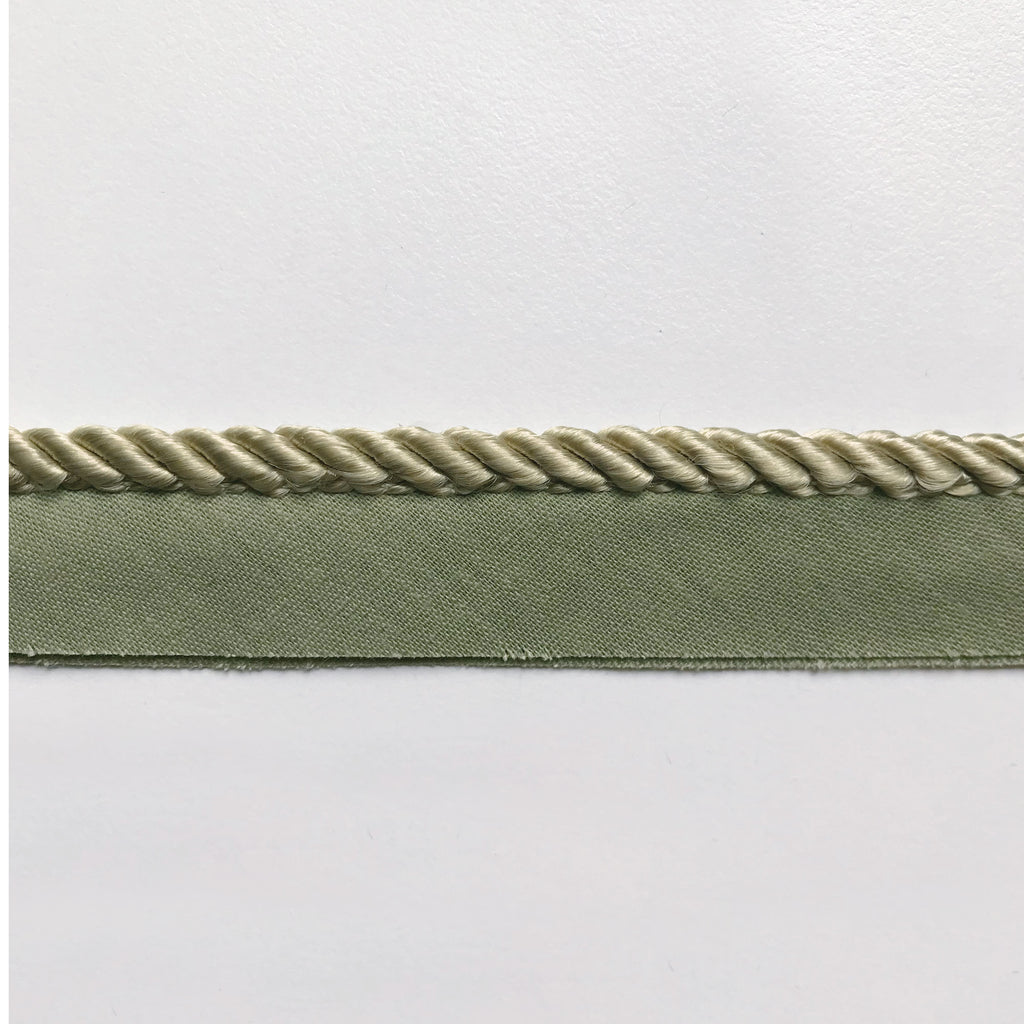 Olive Green High Quality Decorative Lip Cord Trim by the yard