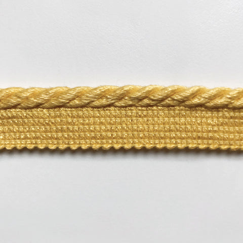 Yellow High Quality Decorative Lip Cord Trim by the yard