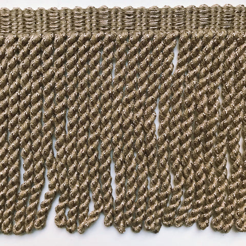 Taupe High Quality Decorative Bullion Fringe Trim by the yard