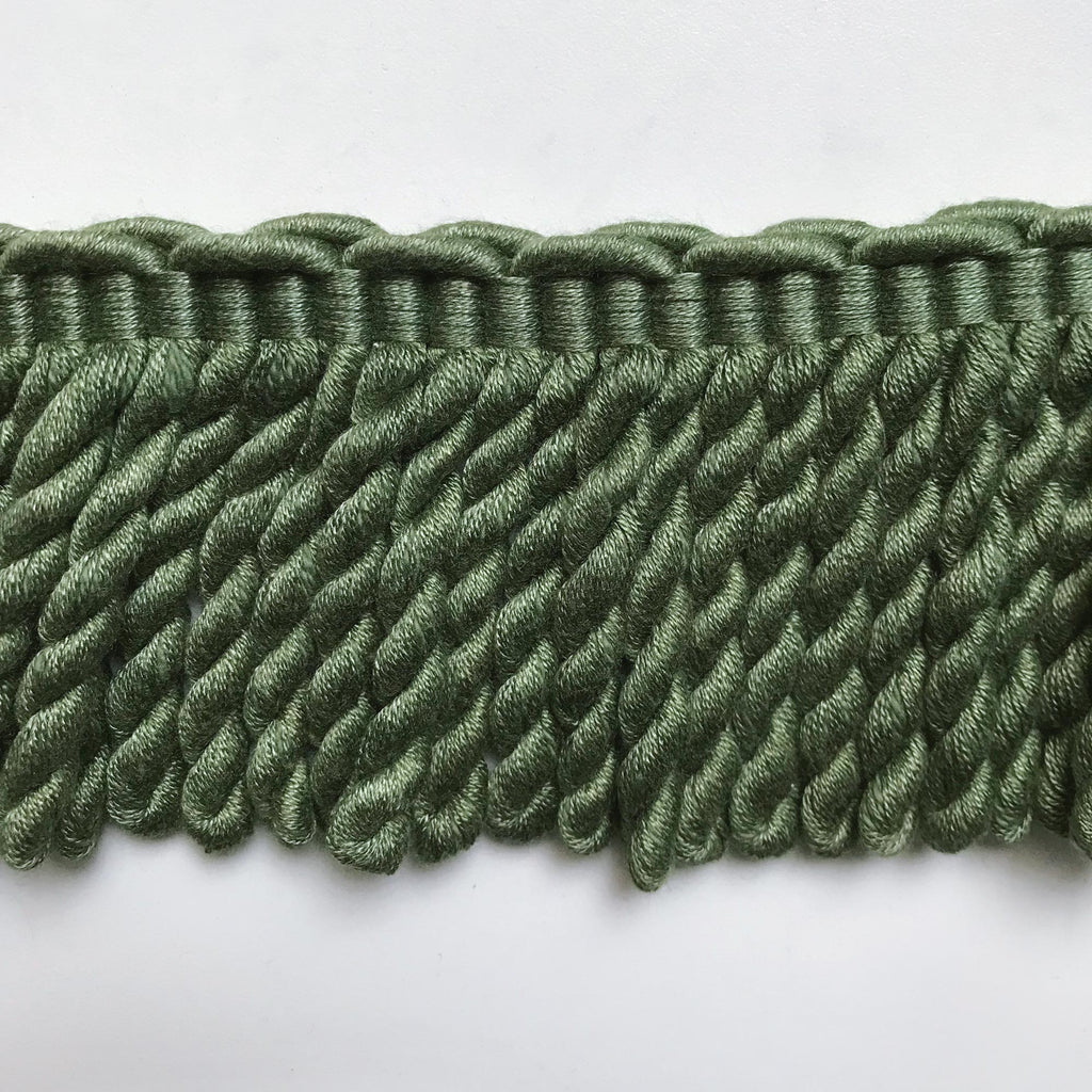 Moss Green High Quality Decorative Bullion Fringe Trim by the yard