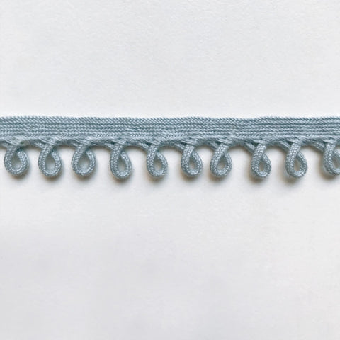 Baby Blue High Quality Decorative Loop Trim by the yard