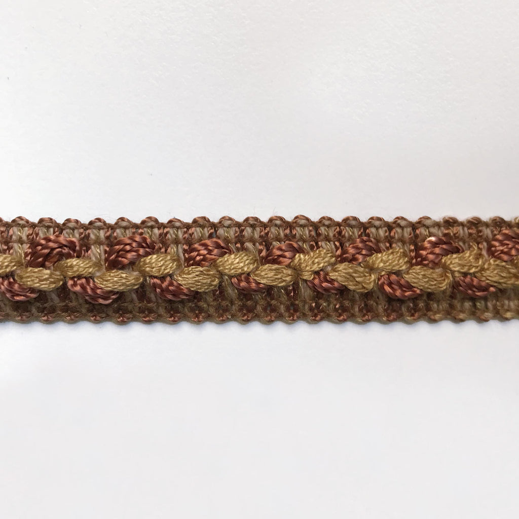 Brown High Quality Decorative Gimp Trim by the yard