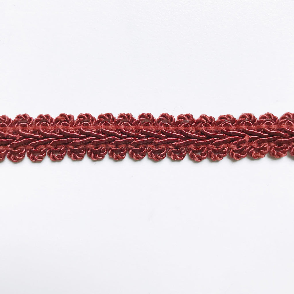 Scarlet High Quality Decorative Gimp Trim by the yard
