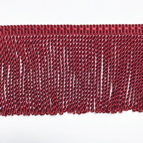 Red High Quality Decorative Bullion Fringe Trim by the yard