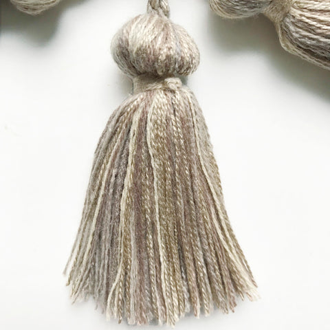 Neutral High Quality Decorative Tassel