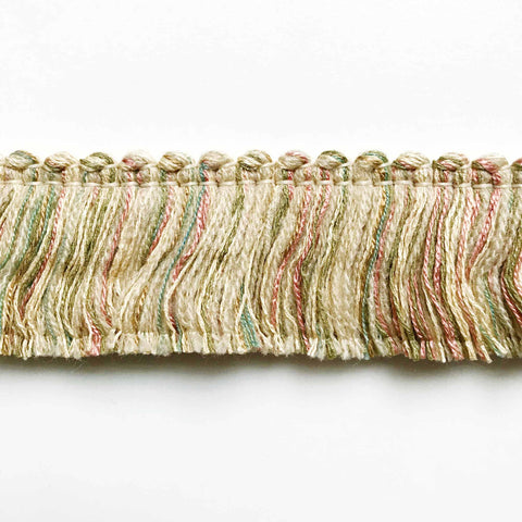 Spring Toned High Quality Decorative Brush Fringe Trim by the yard