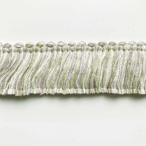 Lilac and Line High Quality Decorative Brush Fringe Trim by the yard
