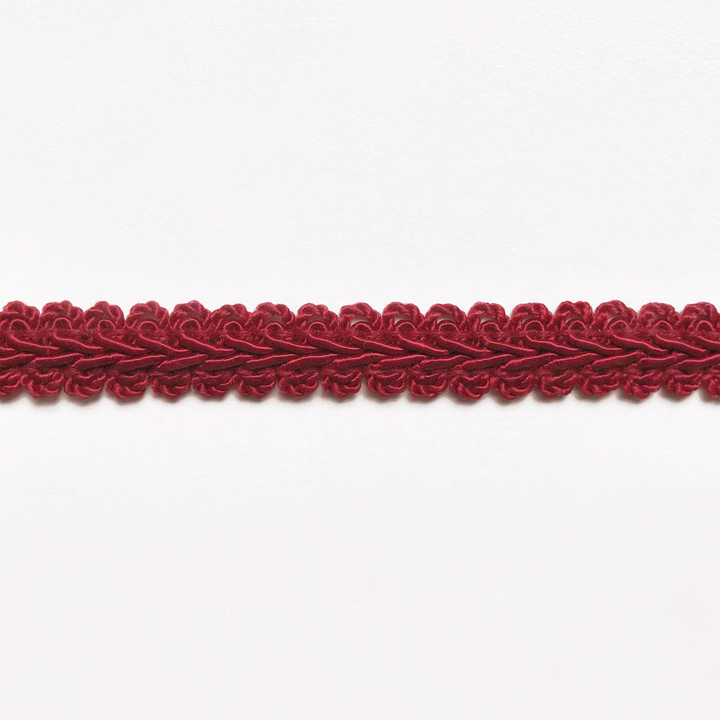 Red High Quality Decorative Gimp Trim by the yard