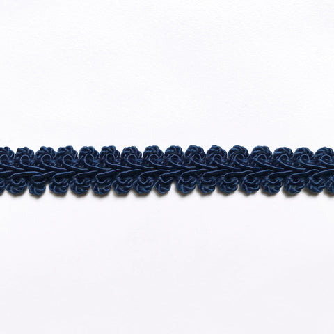 Indigo High Quality Decorative Gimp Trim by the yard