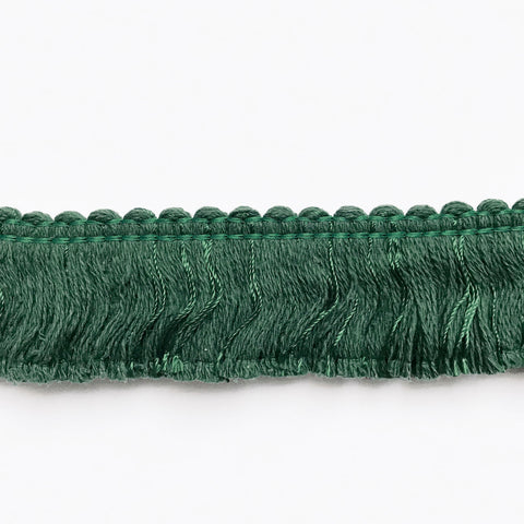 Emerald Green High Quality Decorative Brush Fringe Trim by the yard
