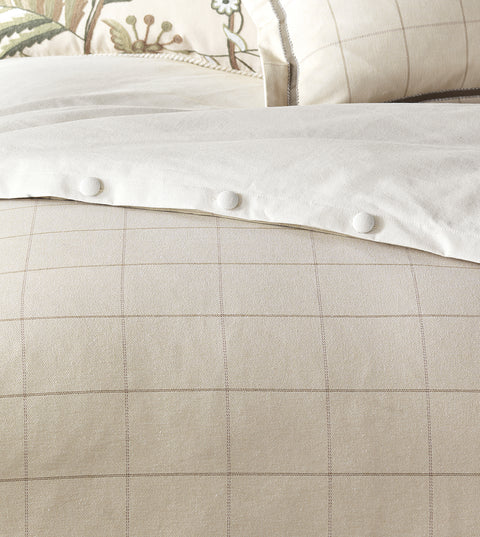 Franklin Vanilla Duvet Cover (Queen 88x90)