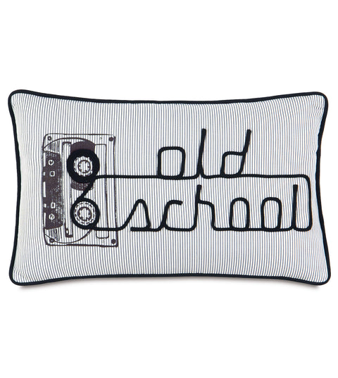 "Austin ""Old School"" Decorative Pillow 13"" x 22"""