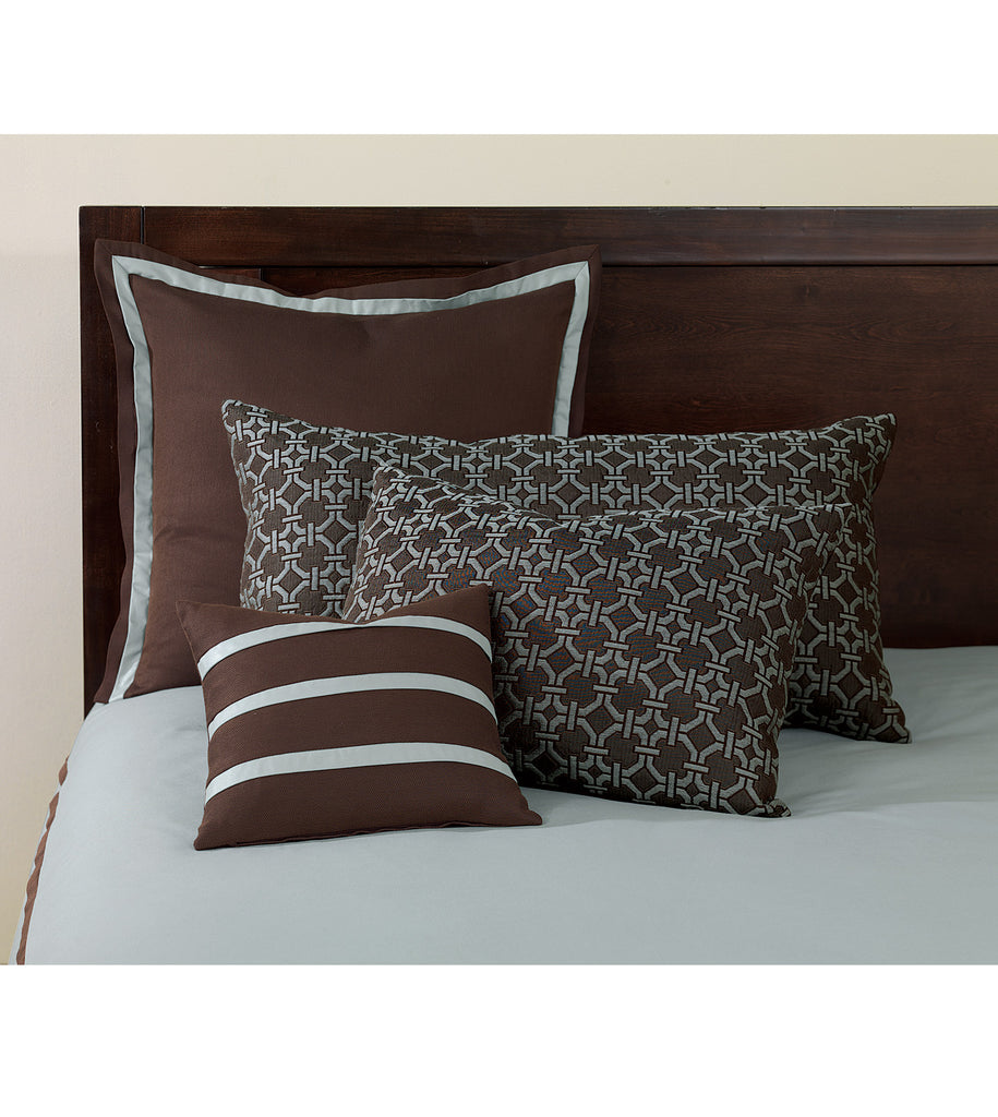 27 X 27 Coffee Bean Euro Sham Pillow Cover Plankroad Home Outlet