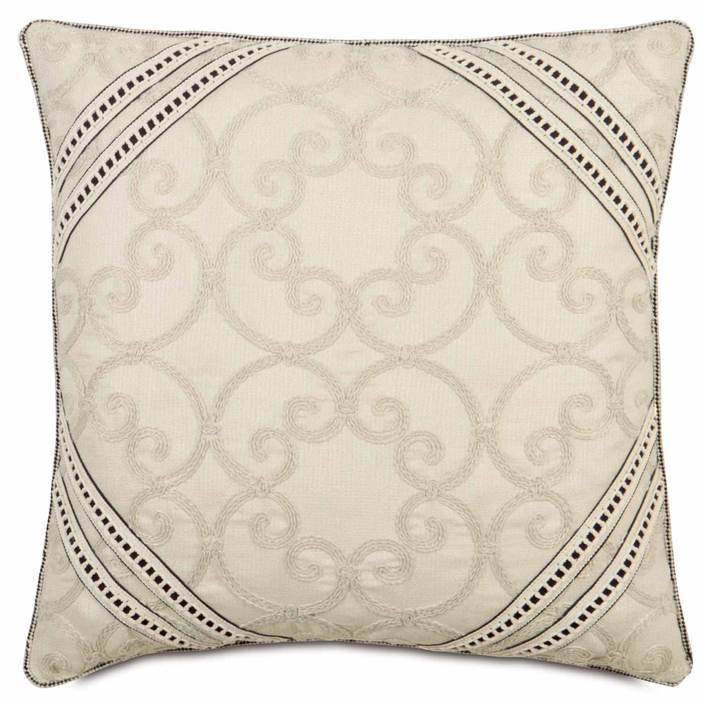 "Catherine Decorative Pillow 22"" x 22"""