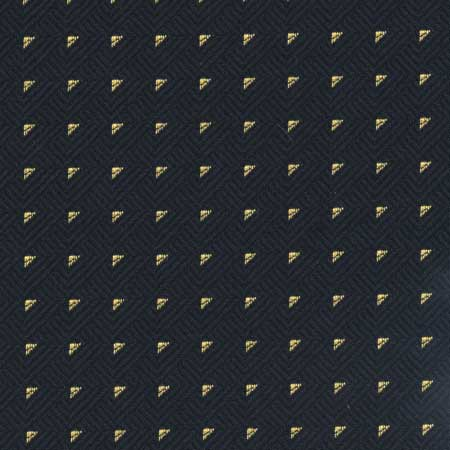 Roaring 20's Glam Black Jacquard Woven Upholstery Fabric - 54""