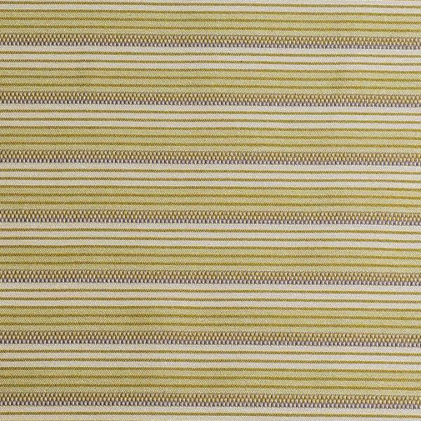 70's Style Green Woven Stripe Upholstery Fabric