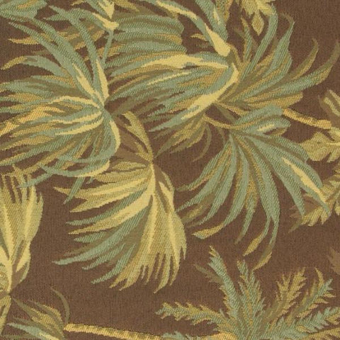 Tropical Palm Tree Jacquard Upholstery Fabric