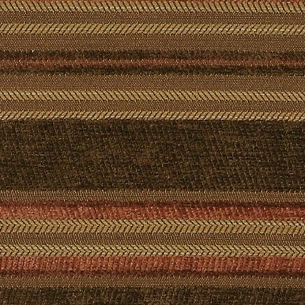 Fall Striped Woven Upholstery Fabric
