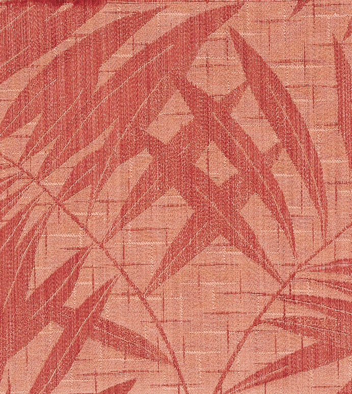 Coral Palm Tree Upholstery Fabric