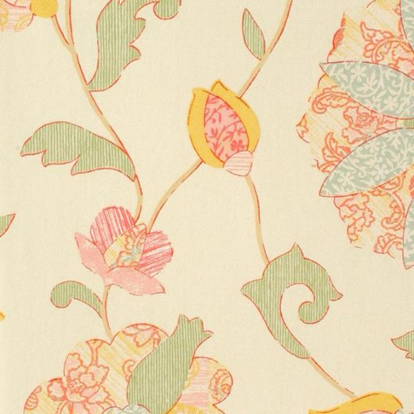 Floral Print Upholstery Fabric