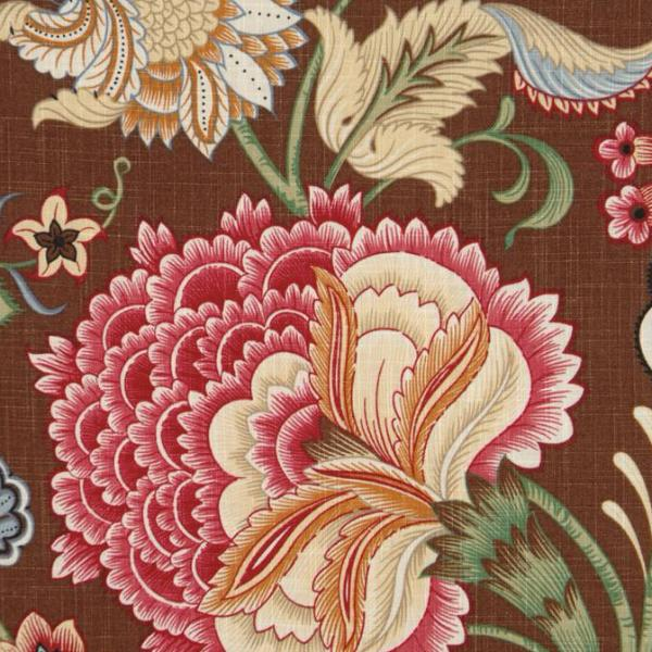 Floral Linen Print Fabric