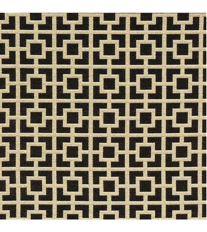 Black Gold Jacquard Upholstery Fabric – Plankroad Home Decor