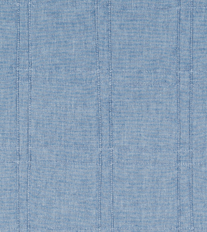 Blue Denim Pintuck Upholstery Fabric