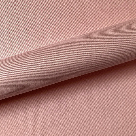 Ballet Slipper Pink Solid Twill Upholstery Fabric 56""