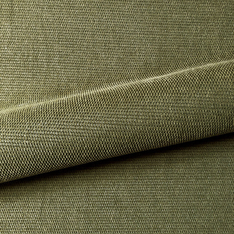 Khaki Green Textured Woven Upholstery Fabric 54""