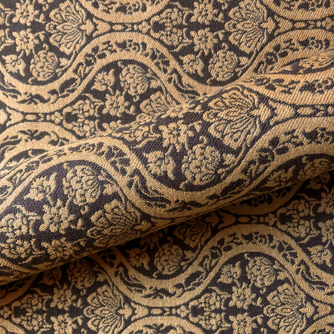 Maison Sienna Old World Floral Ogee Upholstery Fabric 54""