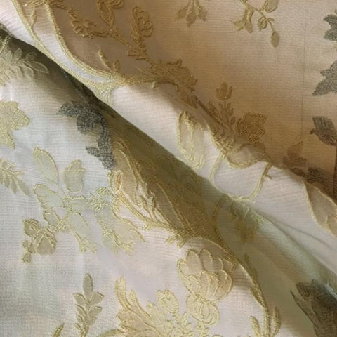 Botanical Brocade Upholstery Fabric