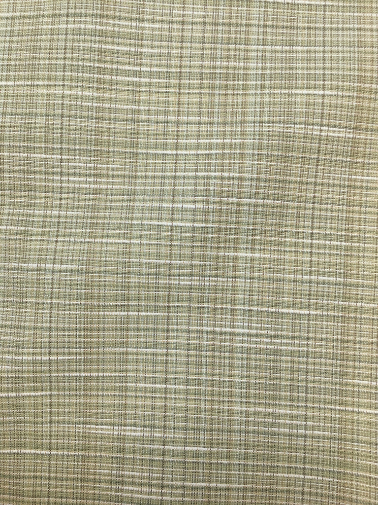 70's Style Green Textured Weave Upholstery Fabric