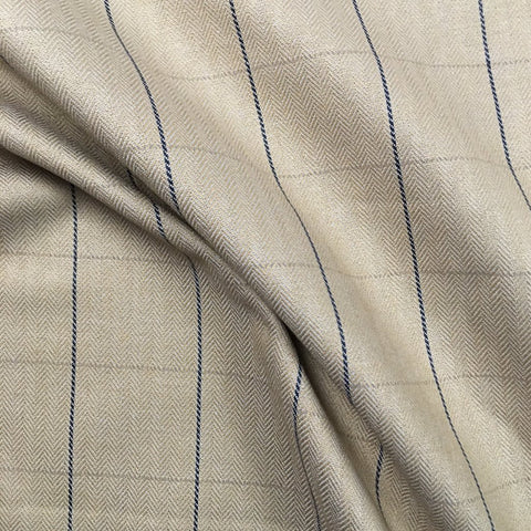 Menswear Window Pane Check Cotton Fabric