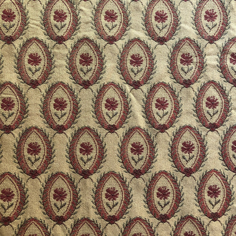 Traditional Chintz Jacquard Upholstery Fabric 54""
