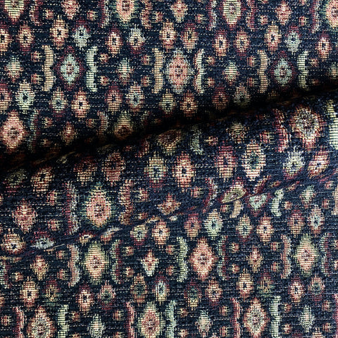 Multicolor Country Floral Jacquard Upholstery Fabric 54""