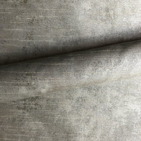 Modern Silver Metallic Sheen Upholstery Fabric 54""