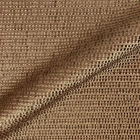 Lionel Dark Brown Textured Upholstery Fabric - 54""