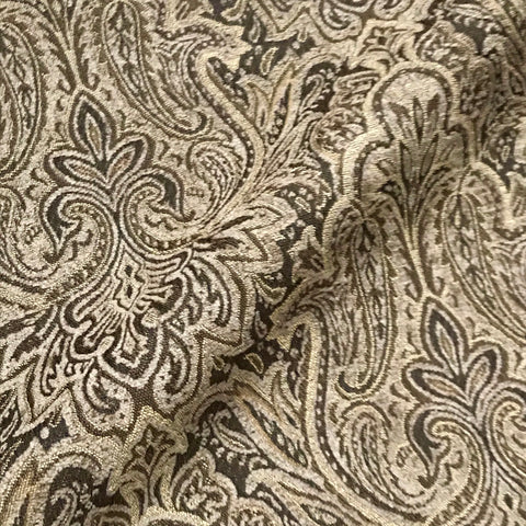 Ivanhoe Traditional Jacquard Woven Damask Upholstery Fabric - 54""