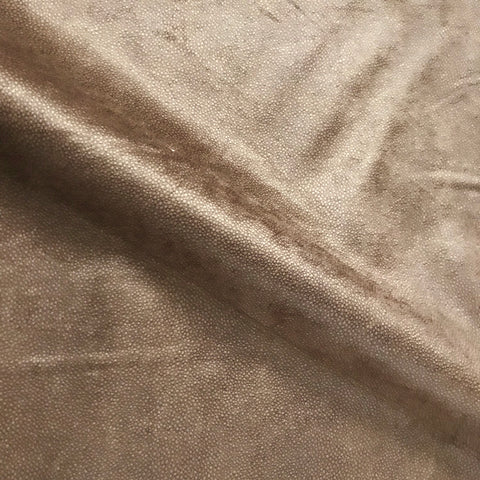 Brown Shagreen Upholstery Fabric - 54""