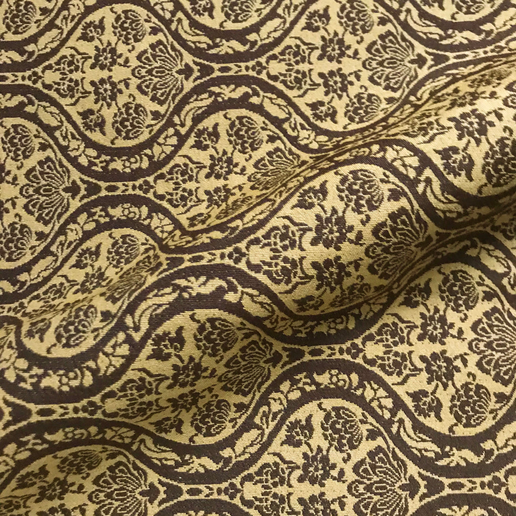 Sienna Dust Jacquard Woven Upholstery Fabric - 54""