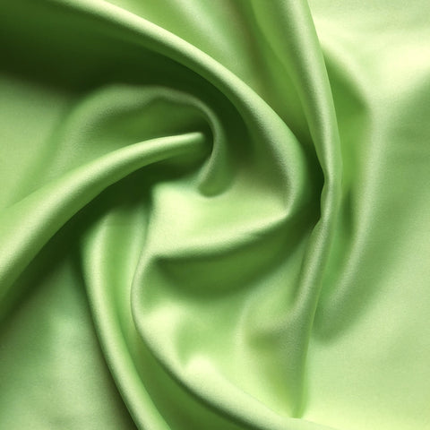 Lime Neon Green Solid Smooth Texture Upholstery Fabric 54""