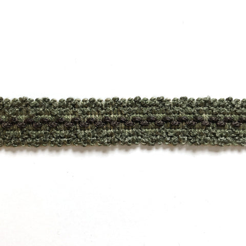 Moss Green High Quality Decorative Gimp Trim by the yard