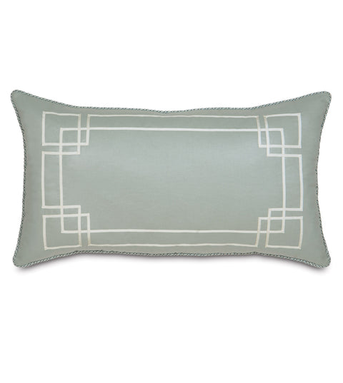 "Vénus Art Deco King Sham 21"" x 37"""