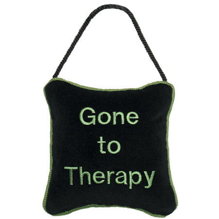 Gone to therapy